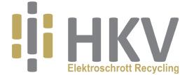 HKV ELEKTROSCHROTT RECYCLING Logo
